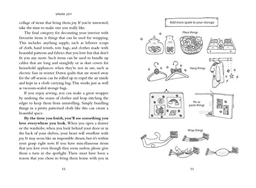 Spark Joy: An Illustrated Guide to the Japanese Art of Tidying
