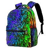 Mochila para niños y niñas para la escuela abstracta cielo estrellado lindo mochilas para primaria o jardín de infancia 29.4x20x40cm, Abstracto (2)4, 29.4x20x40cm, Mochilas Daypack