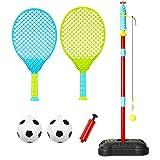 Anddoa Portátil Tetherball Juguetes de los Niños Juego de Bola de los Niños Deporte al aire libre Jugar Diversión