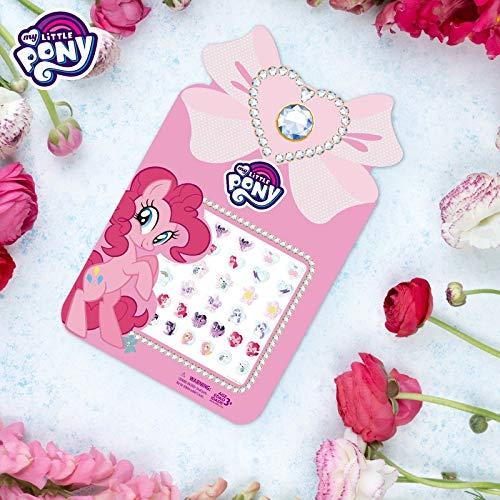 My Little Pony Children adesivi per unghie fai da te per cartoni animati Orecchini impermeabili per bambini congelati adesivi per unghie per principesse