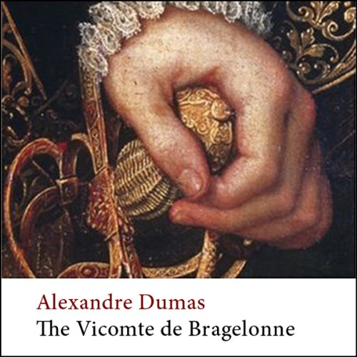 The Vicomte de Bragelonne audiobook cover art