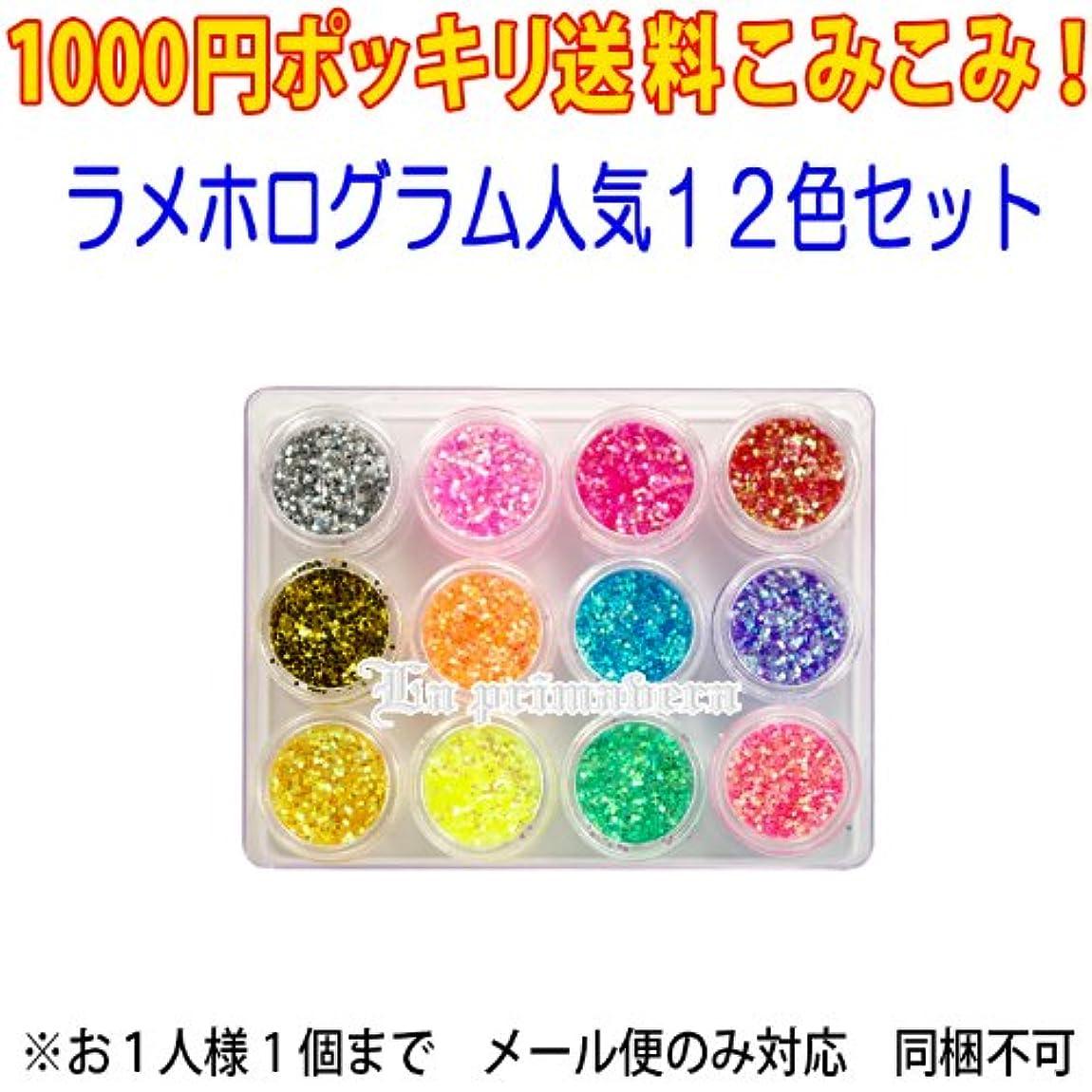 不格好おなじみの無限大ホログラム12色セット (mail-JH-set)