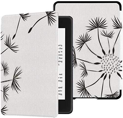 Ganz Neuer wasserdichter Stoffbezug Kindle Paperwhite (10. Generation, Version 2018), Löwenzahn-Tablet-Hülle