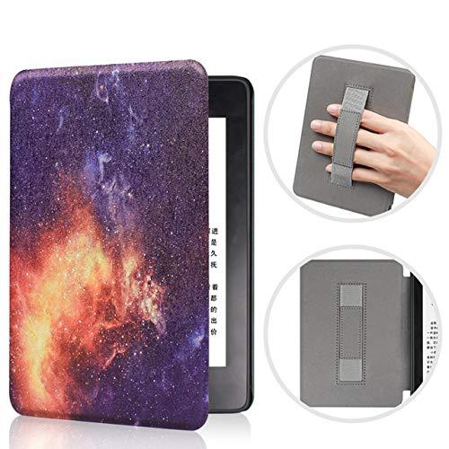 Capa para Kindle da 10a geração com iluminação Embutida - Com alça de mão - Galáxia
