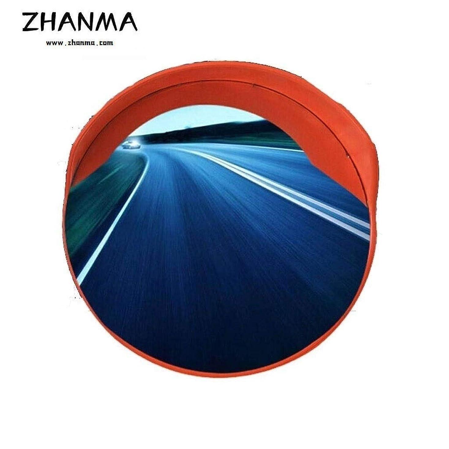 工夫するビジネス社会科ZhanMa ガレージミラー,カーブミラー 45センチメートル60センチメートル75センチメートル80センチメートル100センチメートル120センチメートル交通道路広角ミラー地下ガレージ特別PCブラインドスポットミラー、ギフト取付金具 (Size : 60cm)