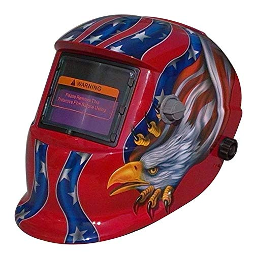 Best Auto Darkening Welding Helmet in Shining Color Graphics with LCD technology