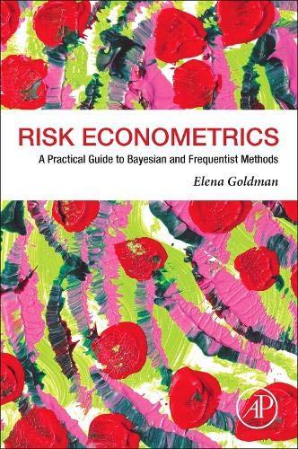 [画像:Risk Econometrics: A Practical Guide to Bayesian and Frequentist Methods]