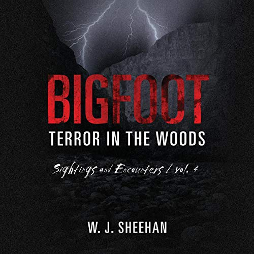 Bigfoot Terror in the Woods: Sightings and Encounters, Vol. 4 audiobook cover art