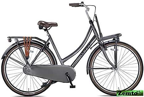 Damen Hollandrad 28 Zoll Hooptec hell-warm-Grau 57 cm