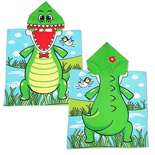 CXBHB Telo da Bagno 丨 Asciugamani Bagno Cartoon Simpatico Cartone Animato Bambini Mantello Telo da Bagno Stampa Microfibra Telo da Bagno con Cappuccio Nuoto Spiaggia Uomini e Donne