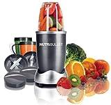 NUTRiBULLET Mixer - Set estrattore Nutrition da 12 pezzi, colore: Grigio