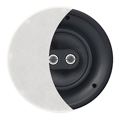 """OSD 8"""" Trimless In-Ceiling Speaker - DVC Dual Dome Tweeters Stereo – ACE840TT"""