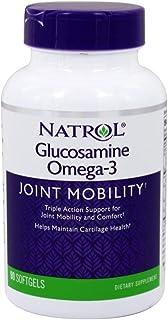 Natrol Omega Glucosamine 90 Softgels