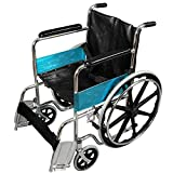 Dr Trust (USA) Premium Quality Portable Foldable Manual Wheelchair for Pain Relief (Gray)…
