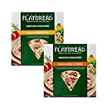 American Flatbread Vegan Meatless Pizza Mix Pack (Pack of 6)   Dairy-Free   GMO-Free   No Artificial Preservatives