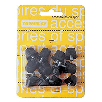 Tremblay - Nylon 13/16 crampons/12 - Crampons football nylon - Noir - Taille 13-16