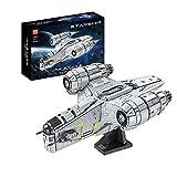 The Razor Crest Architecture Model Molde King 21023 UCS Starship 5018 PCS Bloques de construcción Piezas compatibles con Lego Star Wars,New 2021