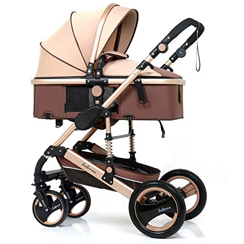 Fantastic Prices! Goquik Can Sit and Fold High Landscape Baby Stroller Two-Way Baby Stroller (Color ...