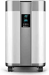 FEI Calefactor Mini Calentador de cerámica 2200W - Oscilación automática y 4 configuraciones de calefacción, Blanco Corte de Seguridad de inclinación