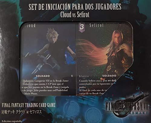 Final Fantasy TCG - Set iniciación Cloud vs Sephiroth (Final Fantasy VII)
