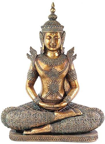 W Feng Shui 12' Thai Buddha Dhyani Mudra Home Decor Peace Statues(G16516)