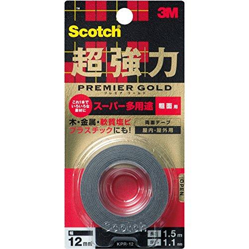 3M スコッチ 超強力両面テープ プレミアゴ...