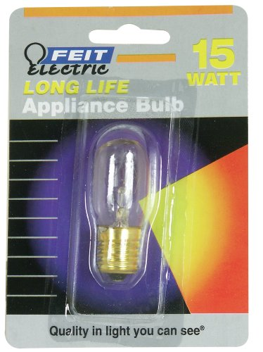 Feit Electric BP15T7N 15-Watt T7 Tubular Appliance Bulb, Clear