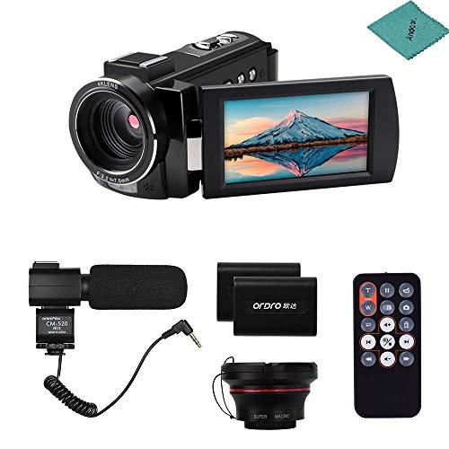 ORDRO HDV-AE8 Video Camera Camcorder