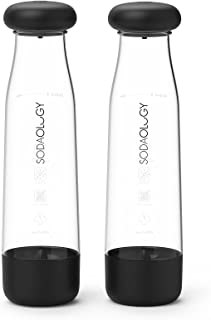Sparking Water Maker, Sodaology Removable Designed Soda Water Bottles,Making Soda Carbonated drinks with 2 Carbonating Bot...