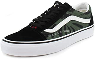 Vans Mens Tie Dye Old Skool Multi/Black Sneaker - 10.5