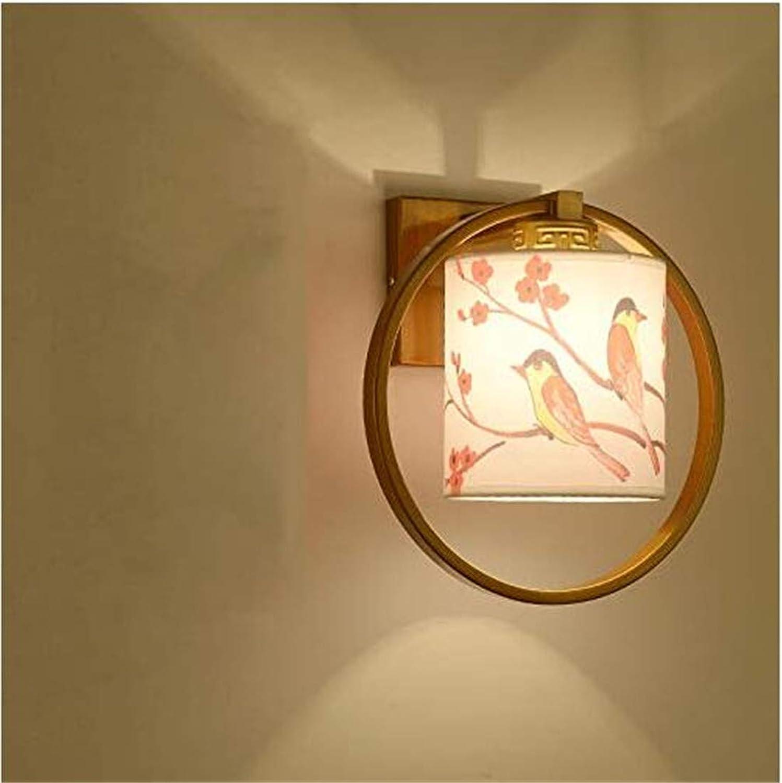 Kunst-Lampen Retrohngelampe Deckenleuchte Led Wandleuchte Ist Perfekt Für Bar Restaurant Cafe Wohnzimmer Schlafzimmer Flur Balkon, M, 29  28  22Cm [Energieklasse A +++]