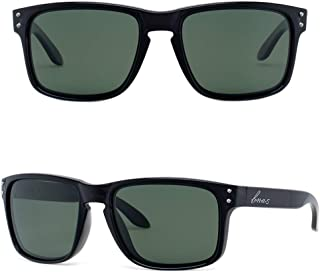 Bnus italy made classic sunglasses corning real glass...
