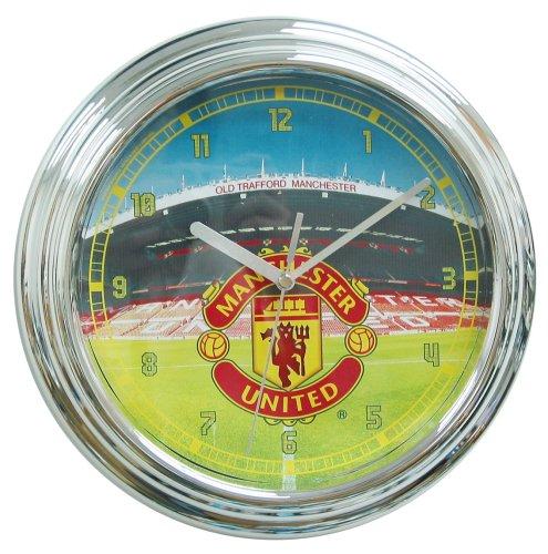 WESCO Manchester United Leuchtende Wanduhr