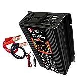 Materiali 500W Power Inverter DC 12V a 220V AC Car Inverter Plug Adapter onda sinusoidale pura Power Converter industriali