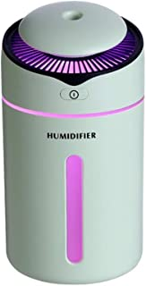 CHUANGMENG-UK I9 Creative New Mini USB humidifier air Purifier Office The humidifier Simple Replenishment (Color : Green)