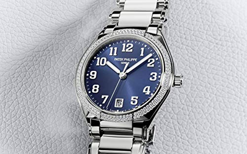 Patek Philippe Twenty4 Steel 7300-1200A-001with Blue Sunburst dial