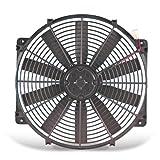 Flex-a-lite 114 Black 14' Trimline Electric Fan (reversible)