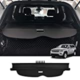 Powerty Cargo Cover for Jeep Grand Cherokee2011-2019 2020 2021 RetractableTrunk Shielding ShadeCargo Luggage Cover(Updated Version:no Gap) (Not Fit for Jeep Cherokee)