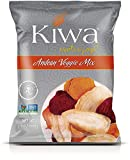 Kiwa Andean Veggie Mix (12 Pack, 4 Oz. Bag) All Natural Plant Based, Sustainably Sourced, Non-GMO, Gluten Free, Savory Snack