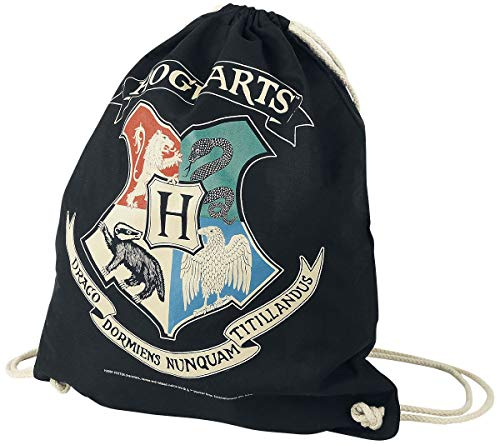Harry Potter Hogwarts Unisex Bolsa Deporte Multicolor, 100% algodón,