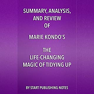 Summary, Analysis, and Review of Marie Kondo's The Life Changing Magic of Tidying Up audiobook cover art