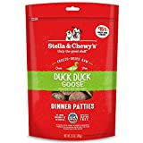 Stella & Chewy's Freeze-Dried Raw Duck Duck Goose Dinner Patties Grain-Free Dog Food, 25 oz bag