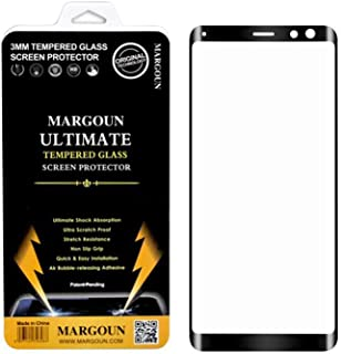 Margoun 3D for Sony Xperia XZ3 2018 (6.0 inch) Tempered Glass Screen Protector - Scratch Resistance, Non Slip Grip, Quick ...