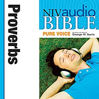 Pure Voice Audio Bible - New International Version, NIV (Narrated by George W. Sarris): (19) Proverbs audiobook cover art