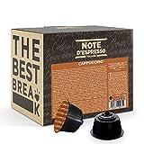 Note D'Espresso Capsule Compatibili con Macchine Nescafé e Dolce Gusto, Instant Cappuccino 48 capsule