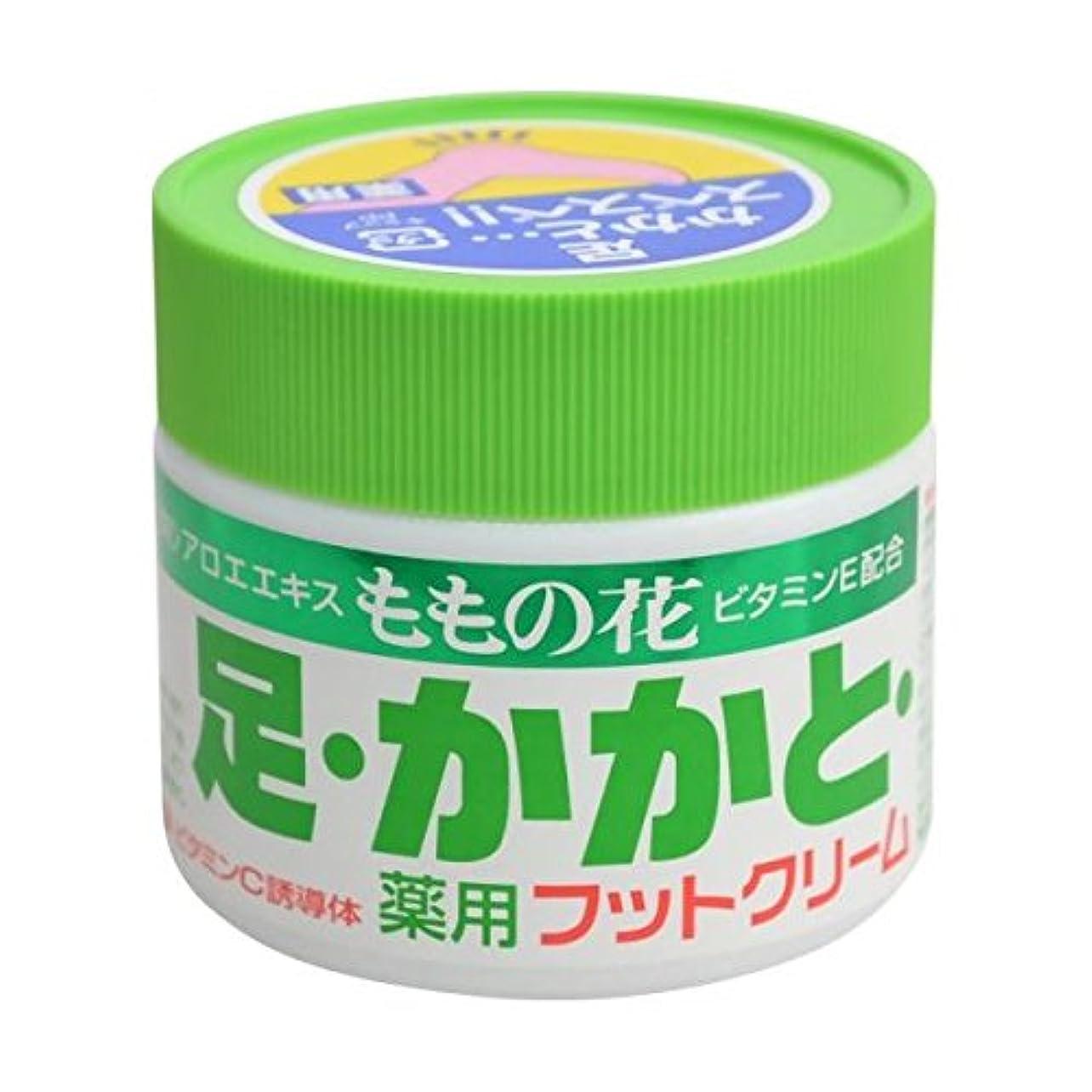 レタスラダアクチュエータももの花 薬用フットクリーム 70g