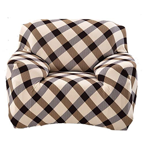 Screenes Universal Landhaus Stretch Sofabezüge Sofahusse Couch Husse Weich Und Beque Einfacher Stil Für 3Er Sofa Continental Rosa 190 230Cm (Color : Prinzessin Ehefrau, Size : 90-140Cm)