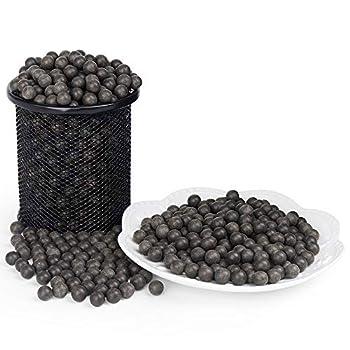 LuckIn 3/8 Inch Slingshot Ammo Balls 1500 Pcs Biodegradable Clay Slingshot Ammo Soil Color