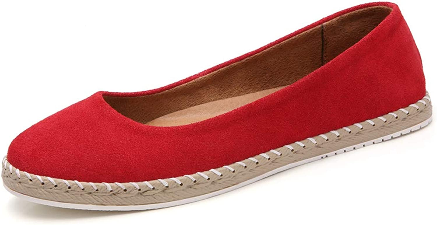 Women Loafers Penny Flats Suede Handmade Slip On Casual Walking & Driving shoes