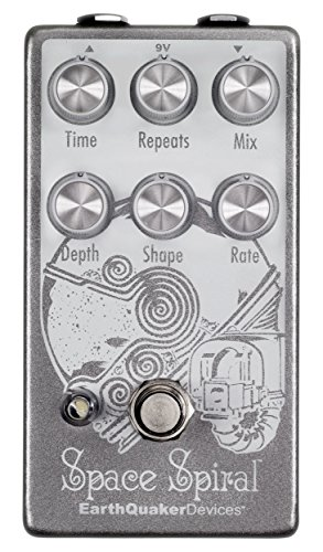 EarthQuaker Devices Space Spiral Modulated Delay Device Guitar Effects Pedal